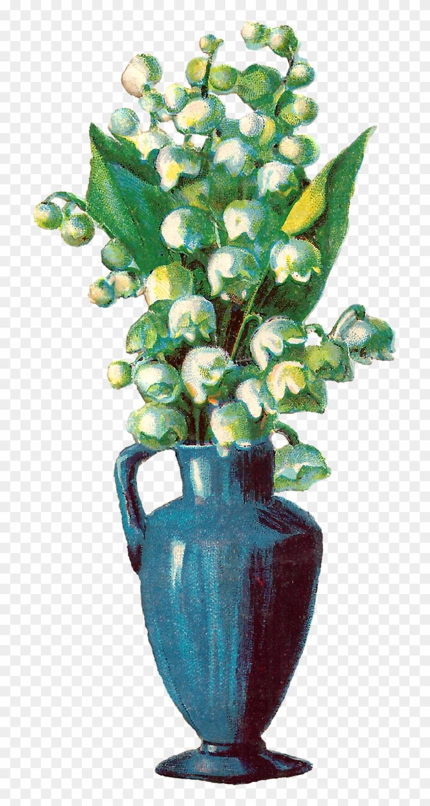 Digital Flower Vase Image Download Clipart #1971071