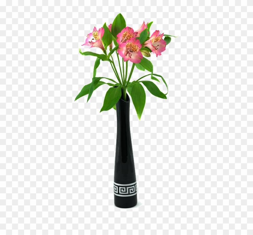 Vase, Ceramics, Flowers, Alstremeria, Interior - Bouquet Clipart #1971245