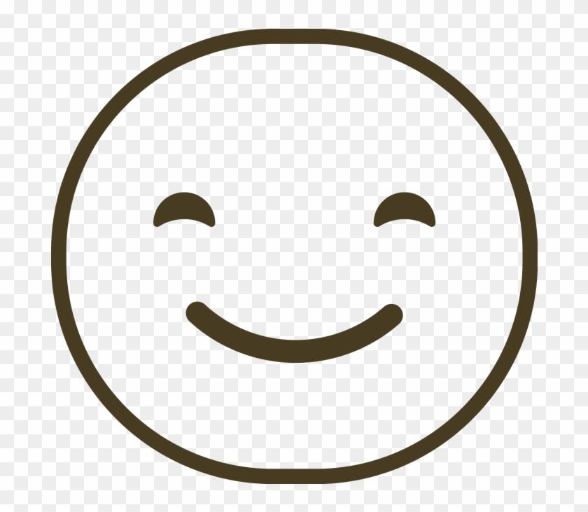 Line Art Emoji - Smiley Clipart #1972535