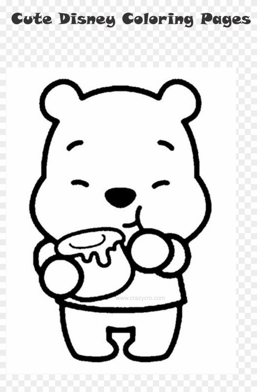Cute Disney Coloring Page Clipart 1981782 Pikpng