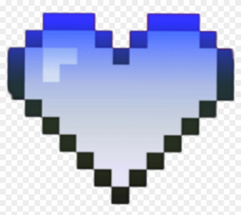 Kawaii Heart Source Heart Blue Pixel Tumblr Kawaii Clipart