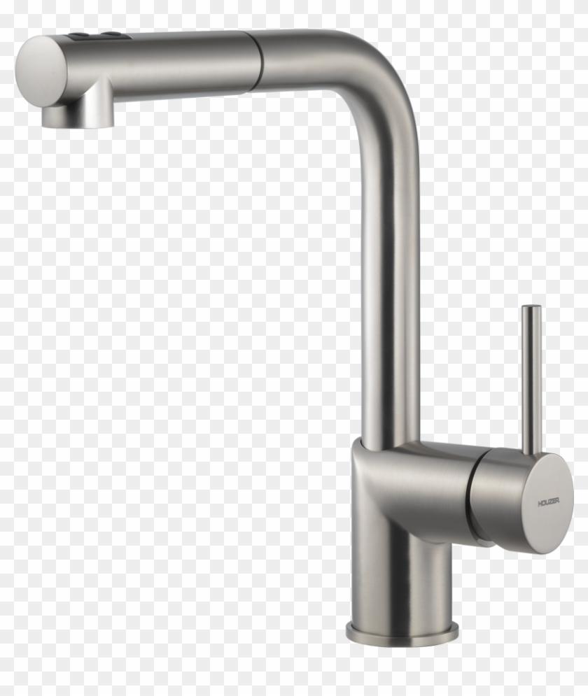Chrome Four Hole Kitchen Faucet Sink Main Lowes Faucets - Sir Faucet 4-hole  Widespread Kitchen Faucet Clipart (#2114929) - PinClipart