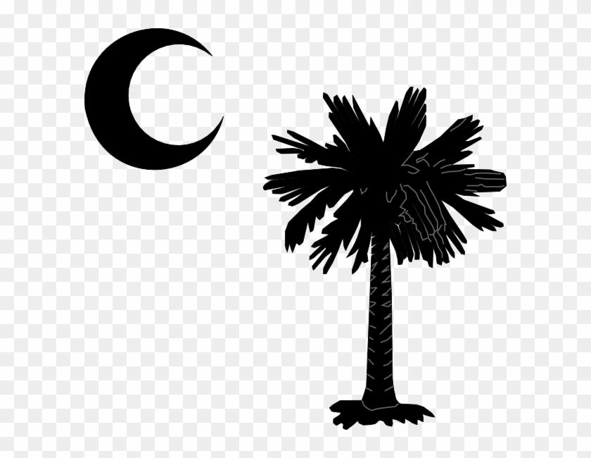 South Carolina Palmetto Tree Clipart #1994894