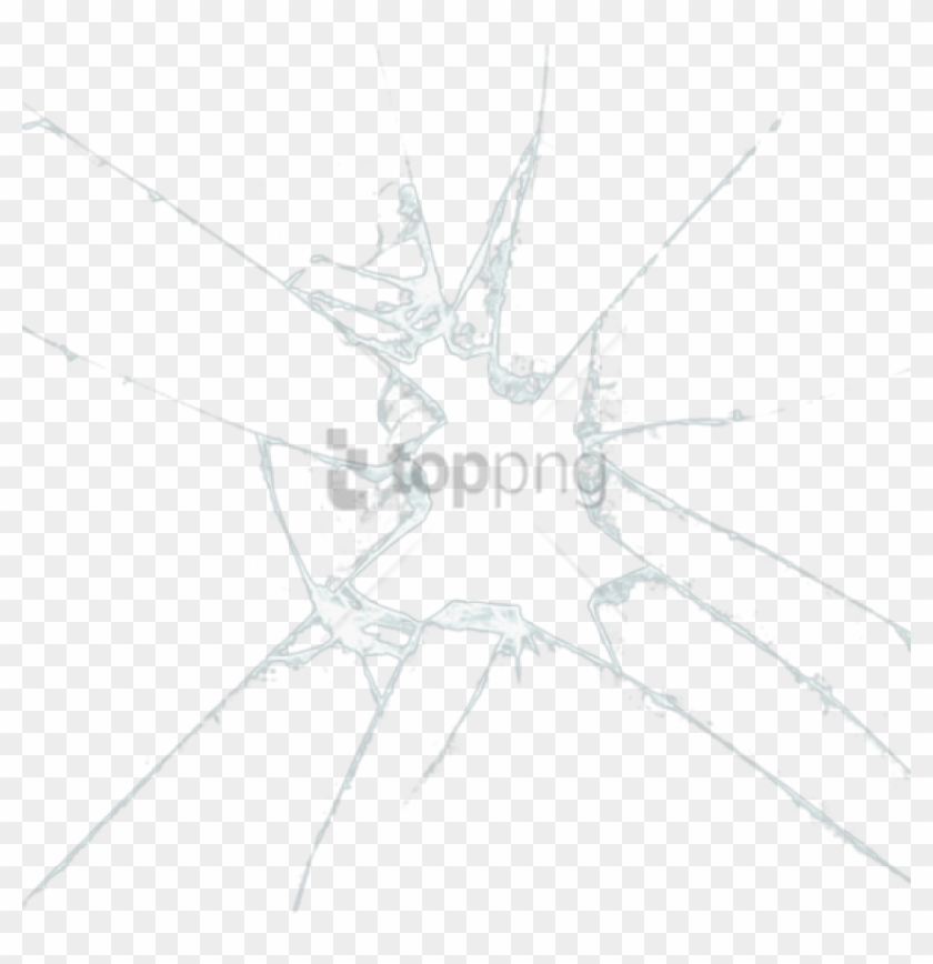 Free Png Cracked Glass Effect Png Png Image With Transparent - Broken Glass Photoshop Clipart #1996893