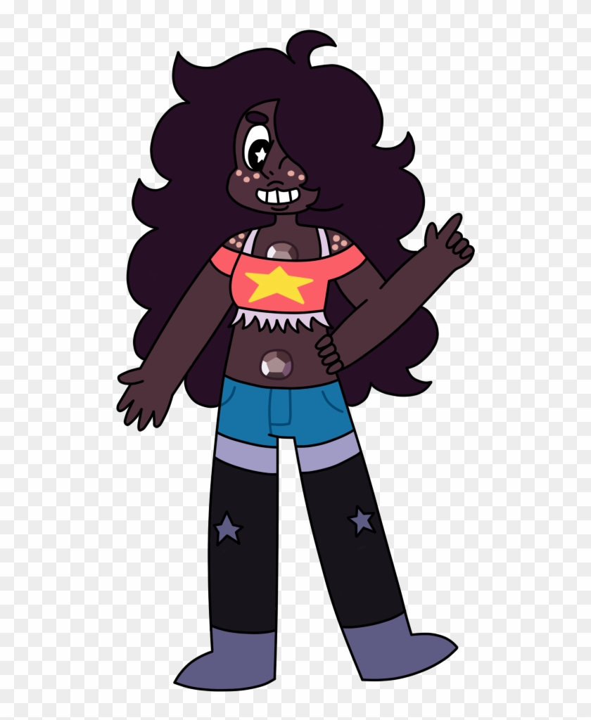 Fanarti Tried Drawing A Steven Connie Amethyst Fusion Cartoon Clipart 1998470 Pikpng