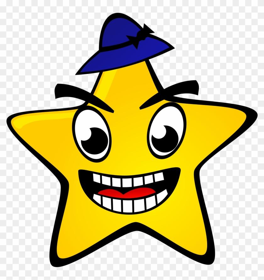 Svg Free Download Star Big Image Png - Funny Clipart Star Transparent Png #20556