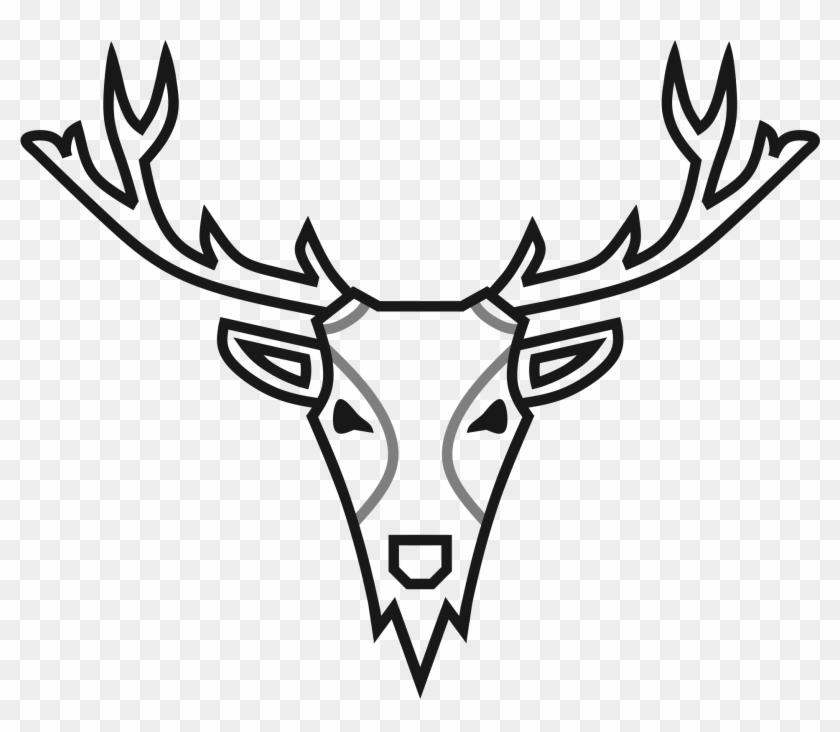 Library Elk Antlers Com Free For - Music Elk Clipart #20788