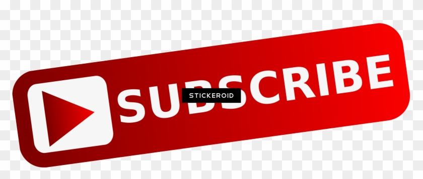 Youtube Subscribe Red - Png Subscribe Youtube Button Clipart #21513