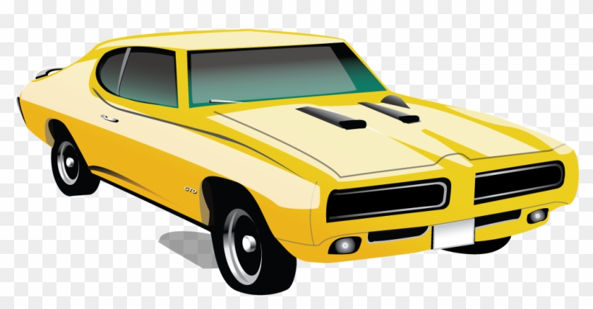 Pontiac Gto Muscle Car Png Clipart - Muscle Car Clipart Free Transparent Png #23171