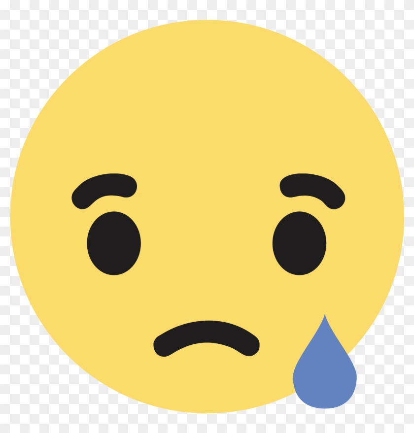 Clipart Black And White Stock Sad Png Images Pluspng - Sad Emoji Facebook Png Transparent Png #24379