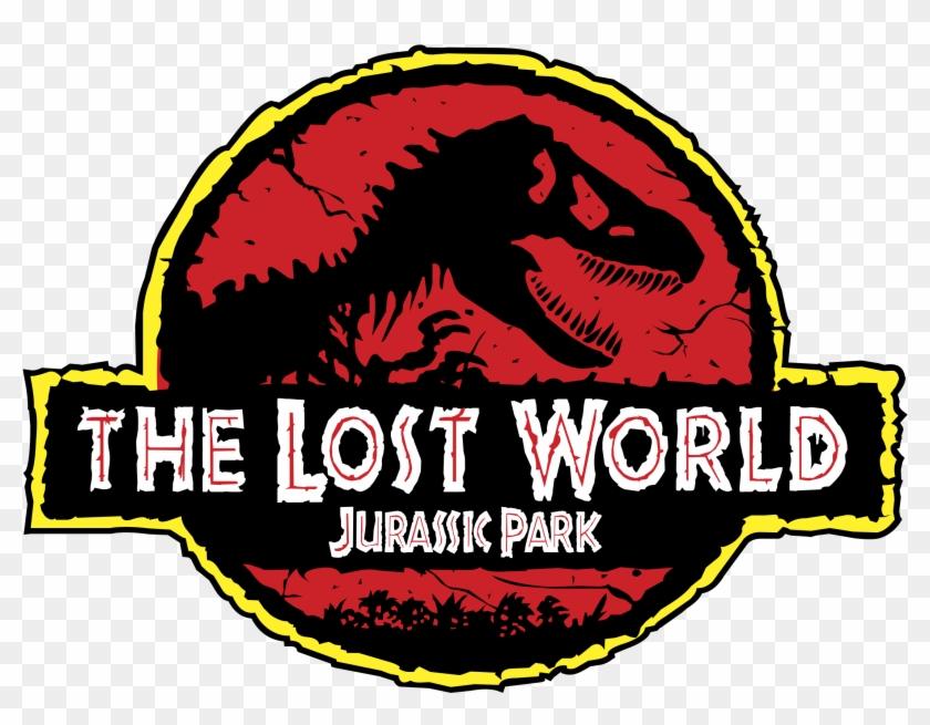 Jurassic Park Logo Png Transparent - Jurassic Park The Lost World Logo Clipart #26716