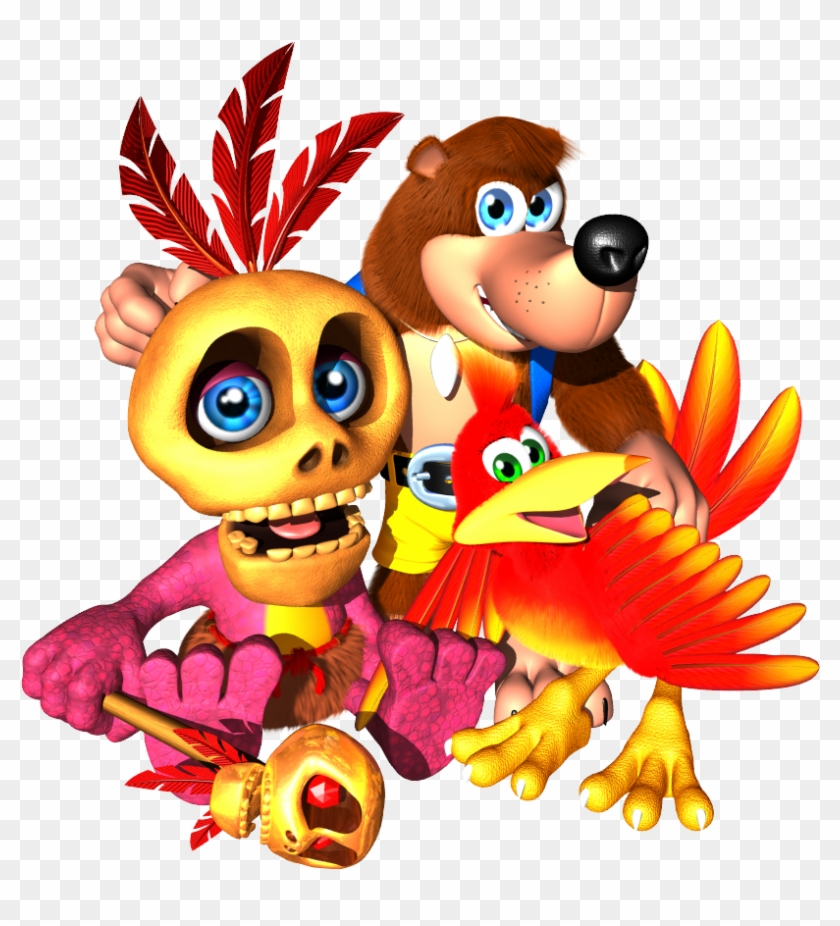 I Think We Can Agree That We All Prefer The Design - Banjo Kazooie Clipart #28229