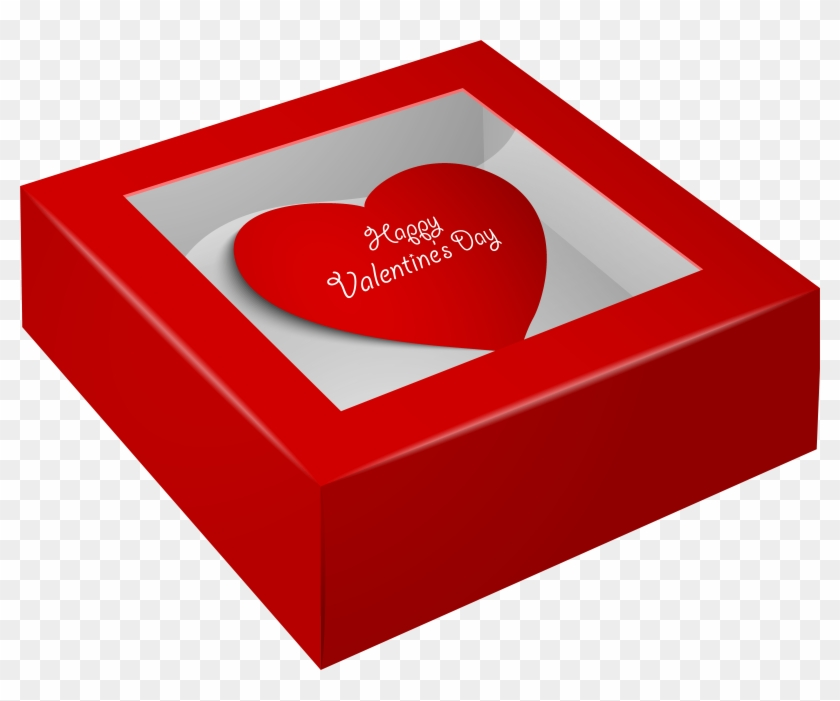 Happy Valentine S Day Png Clip Art - Valentine Day Gift Box Png Transparent Png #28252