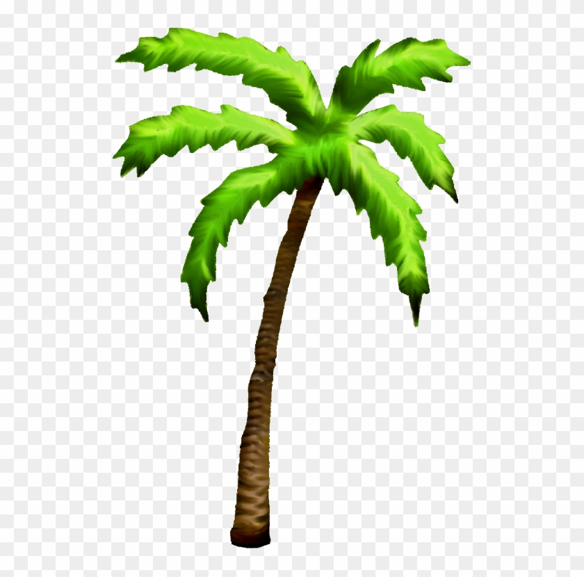 Free Icons Png - Palm Tree Art Png Clipart #29641
