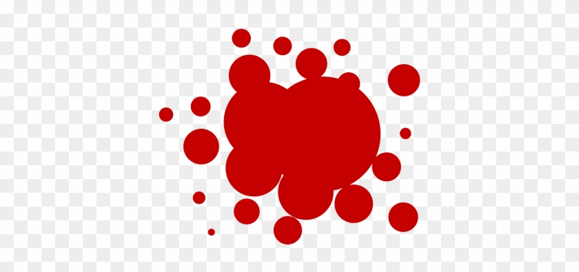 Blood Splash - Blood Drip Clip Art, HD Png Download (#201359