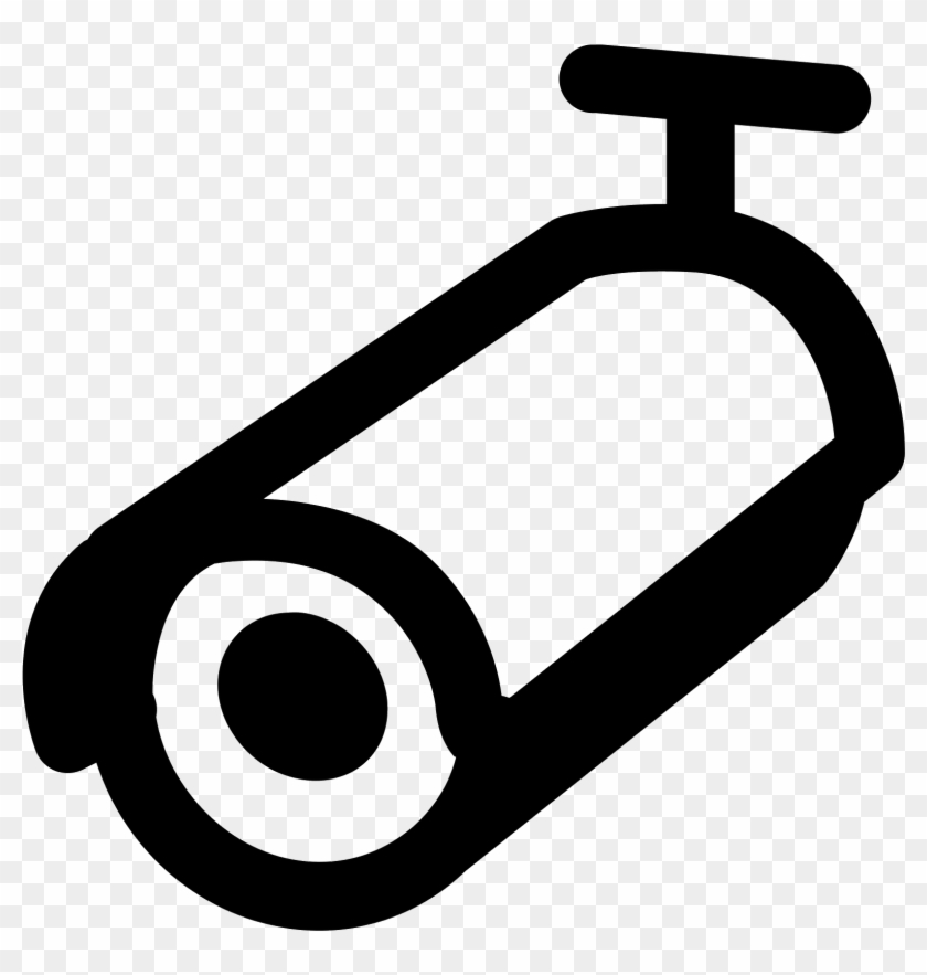 Camera Icons Pdf - Bullet Camera Icon Png Clipart #201402