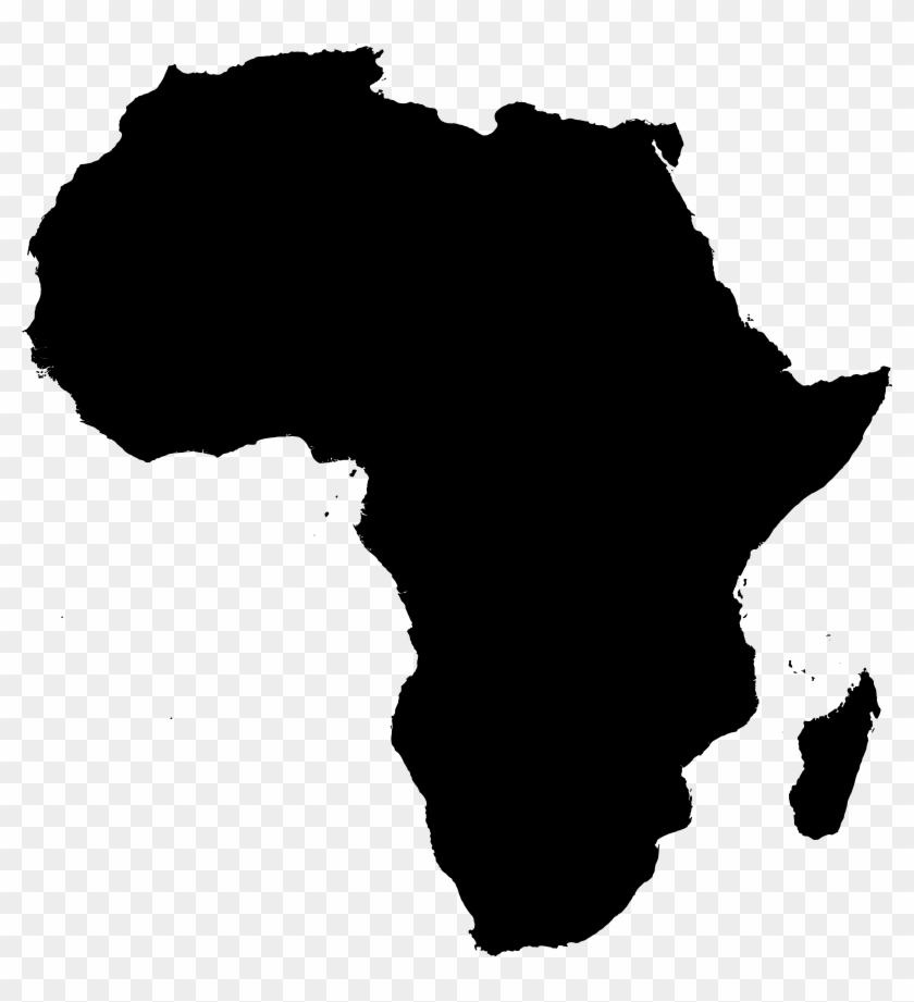Outline Africa Map Png.File Africa Outline Liberia In Africa Map Hd Png
