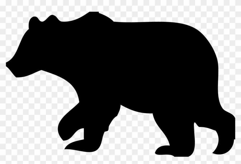 15 Bear Outline Png For Free Download On Mbtskoudsalg - Bear Silhouette Clip Art Transparent Png #203618