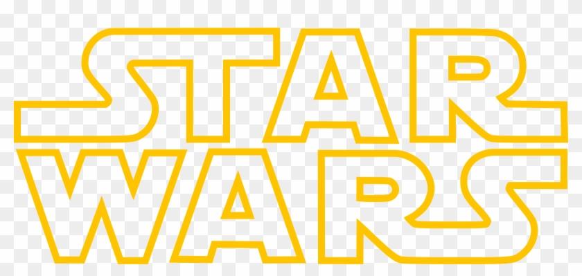 Star Wars Logo Png Transparent Star Wars Logo Outline Clipart 203957 Pikpng