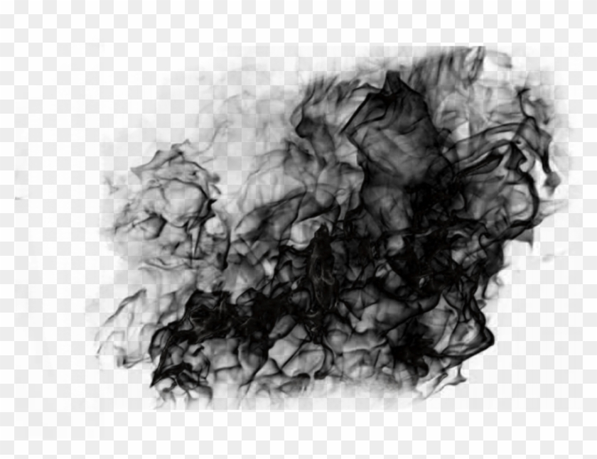 Dark Smoke Effect Clipart #207843