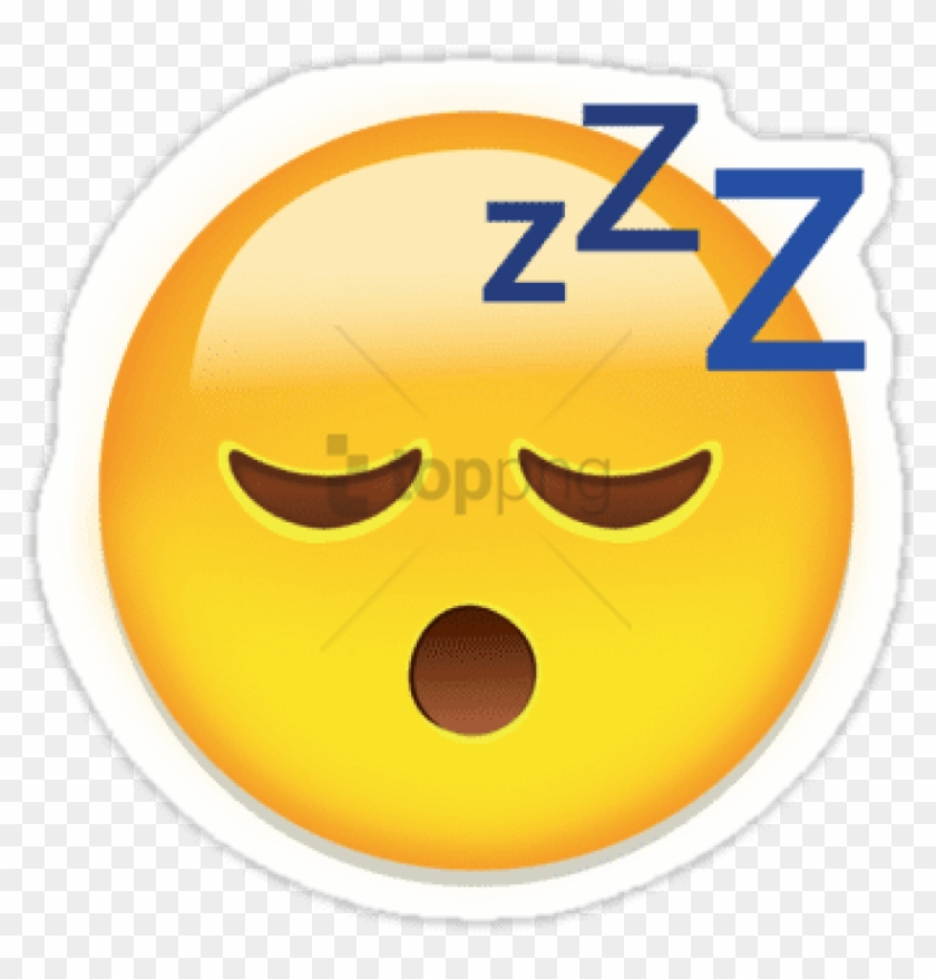 Free Png Download Too Tired To Party You Can Write - Tired Zzz Emoji Transparent Clipart #2004088