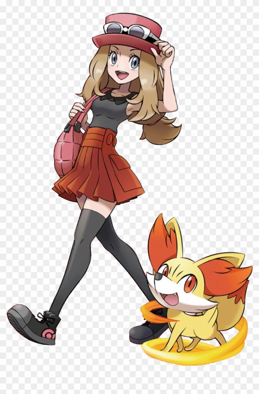Serena Pokemon Game