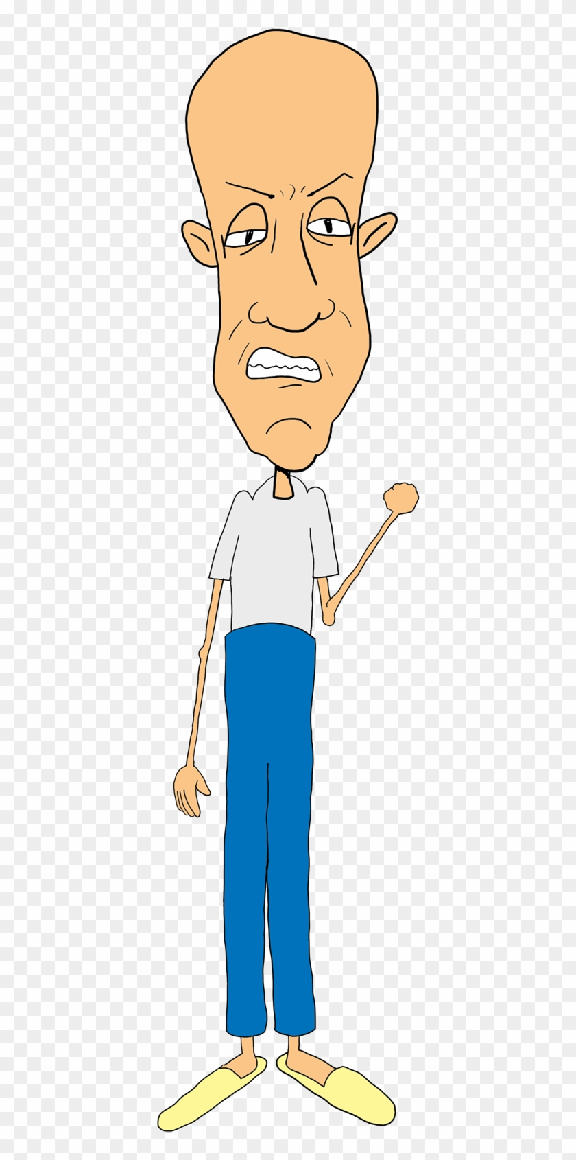 Get Off My Lawn Old Man Clipart #2011744