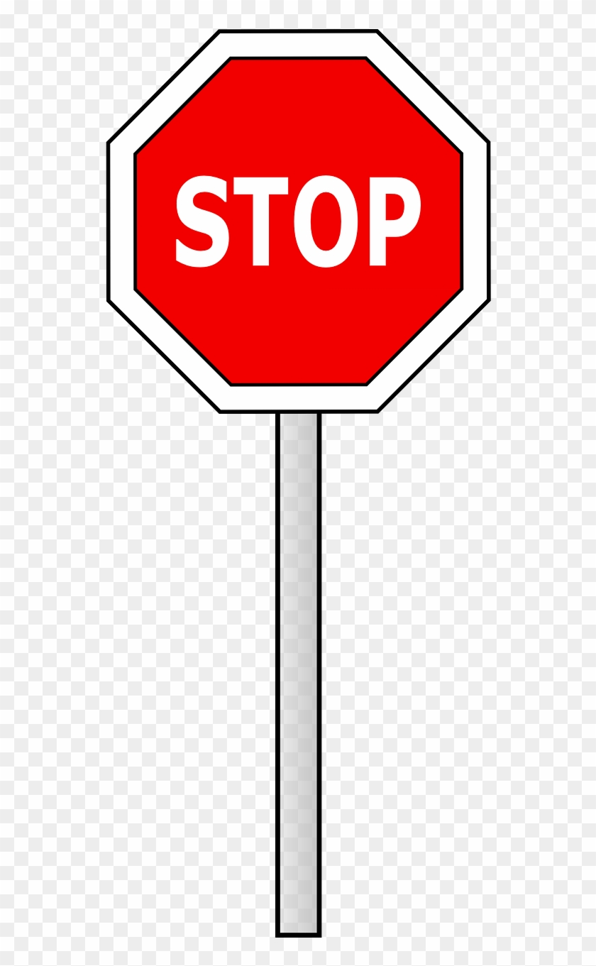 Stop Sign Clipart Png Transparent Png #2015746