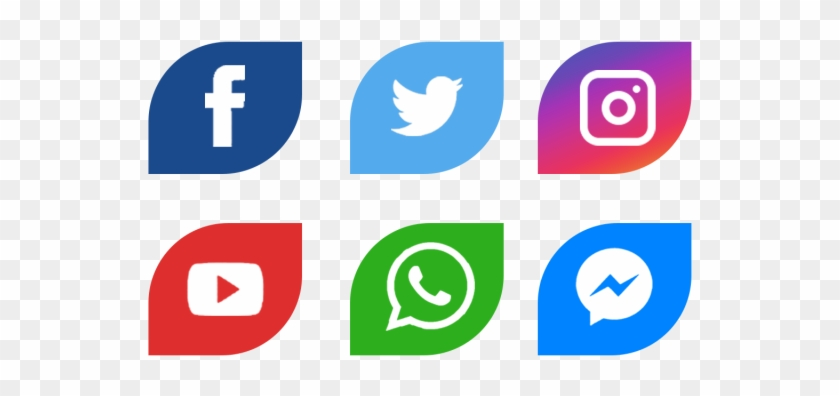 Icono Facebook Png - Facebook Twitter Whatsapp Logo Png Clipart #2022932