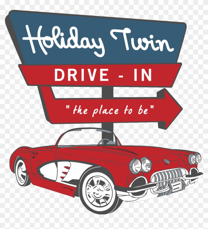 Bring The Kids Out For Trunk Or Treat On Saturday October Drive In Movie Theater Logo Clipart 2028487 Pikpng