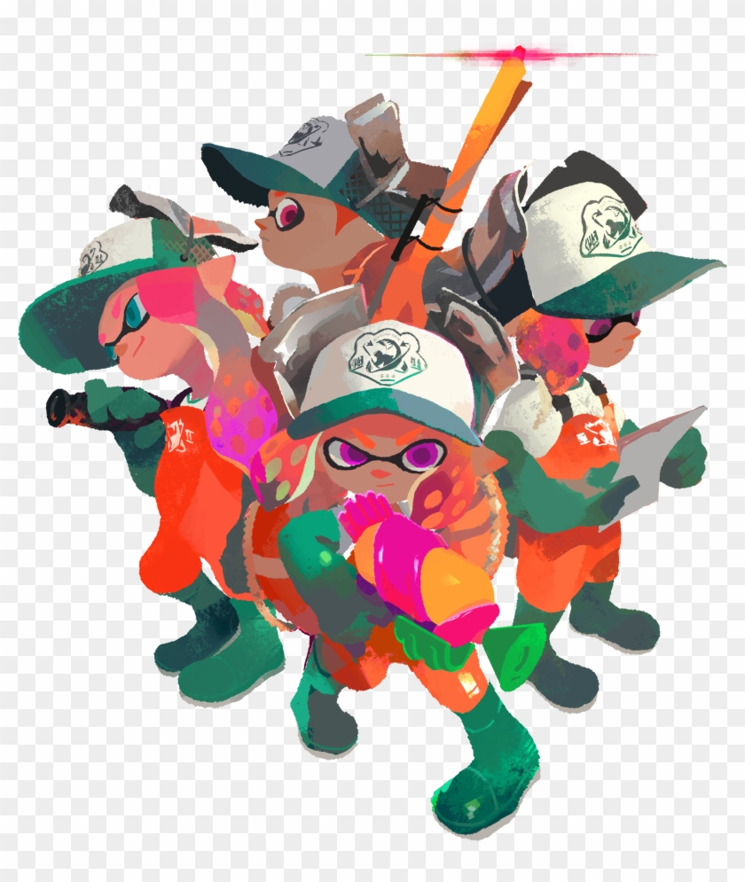 Splatoon 2 Set To Colour Your World Late This July