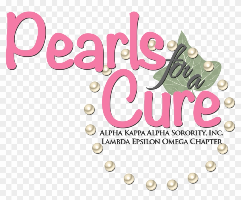 Pearls Fora Cure Logo - Graphic Design Clipart #2045046