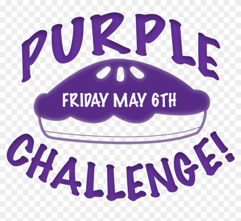 Relay For Life Purple Pie Challenge - Poster Clipart #2045177