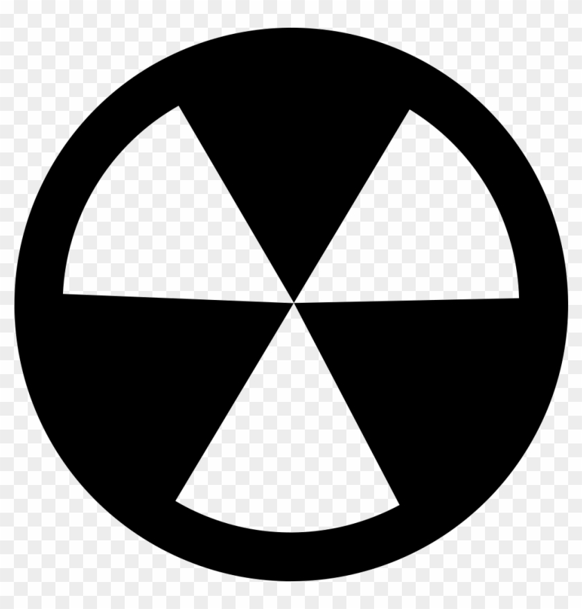 Radioactive Symbol Comments - Radioactive Decal Clipart #2046060