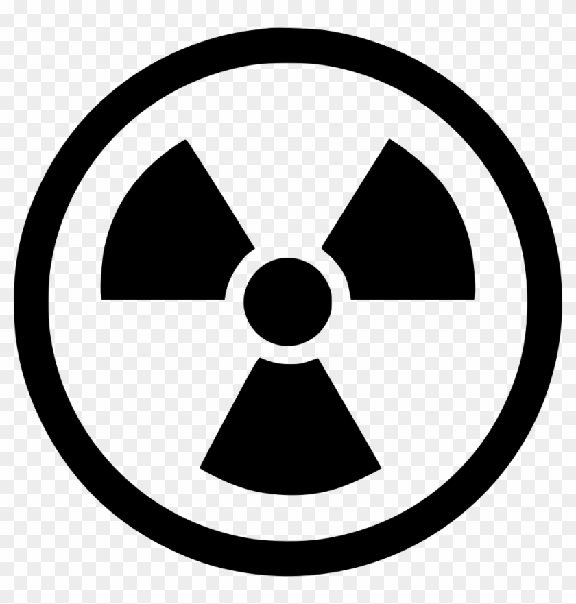 Png File - Radiation Symbol Transparent Clipart #2046257