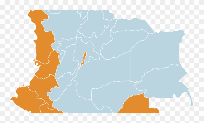 Colombian Presidential Run-off Results By Department - Colombia Provinces Clipart #2056325