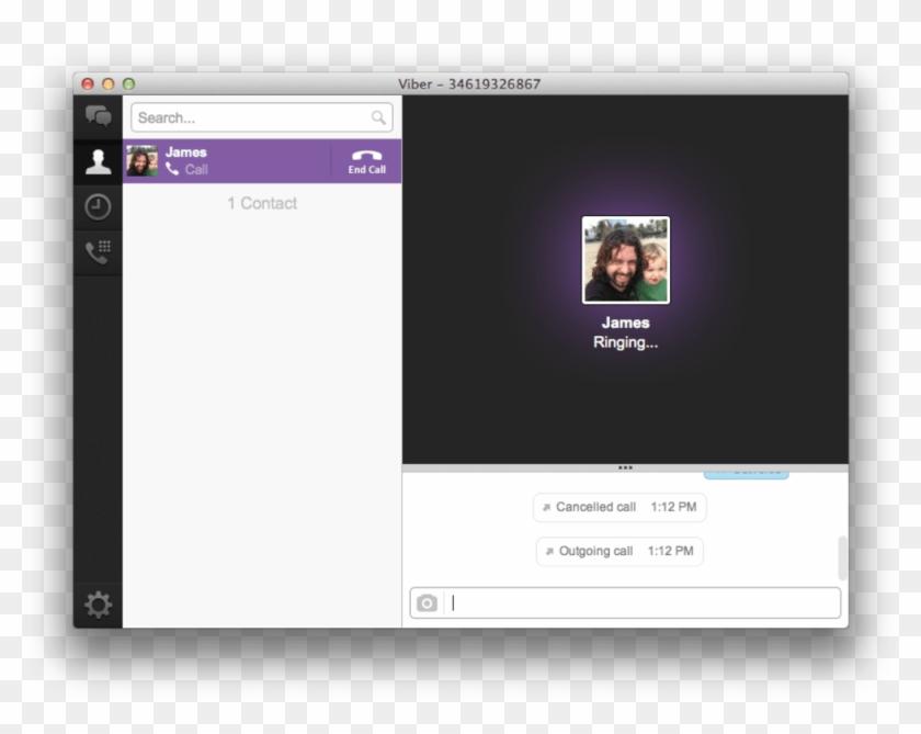 Mac Desktop Png - Viber For Mac Clipart #2057807