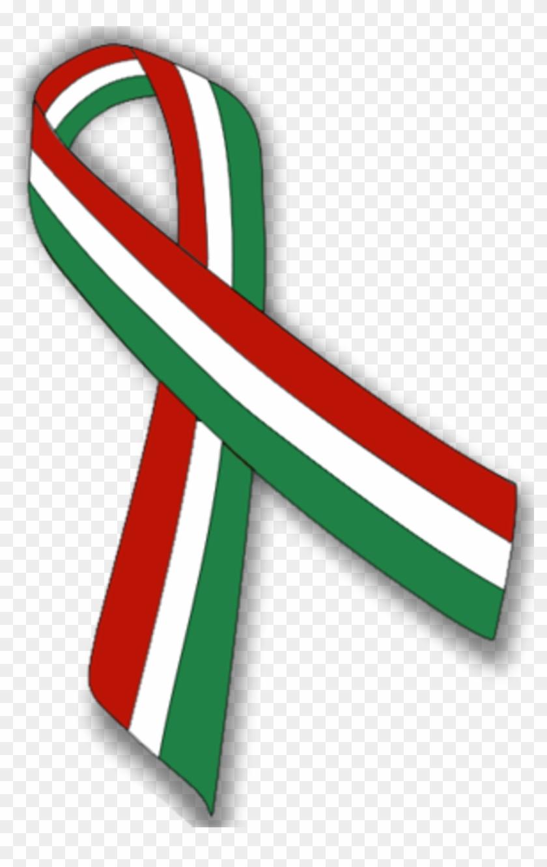 Liston Tricolor Mexico Bandera Ribbon Flag