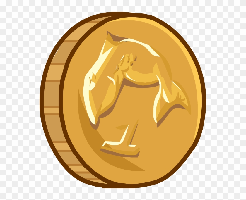 Select Coins - - Club Penguin Coin Png Clipart #2060354