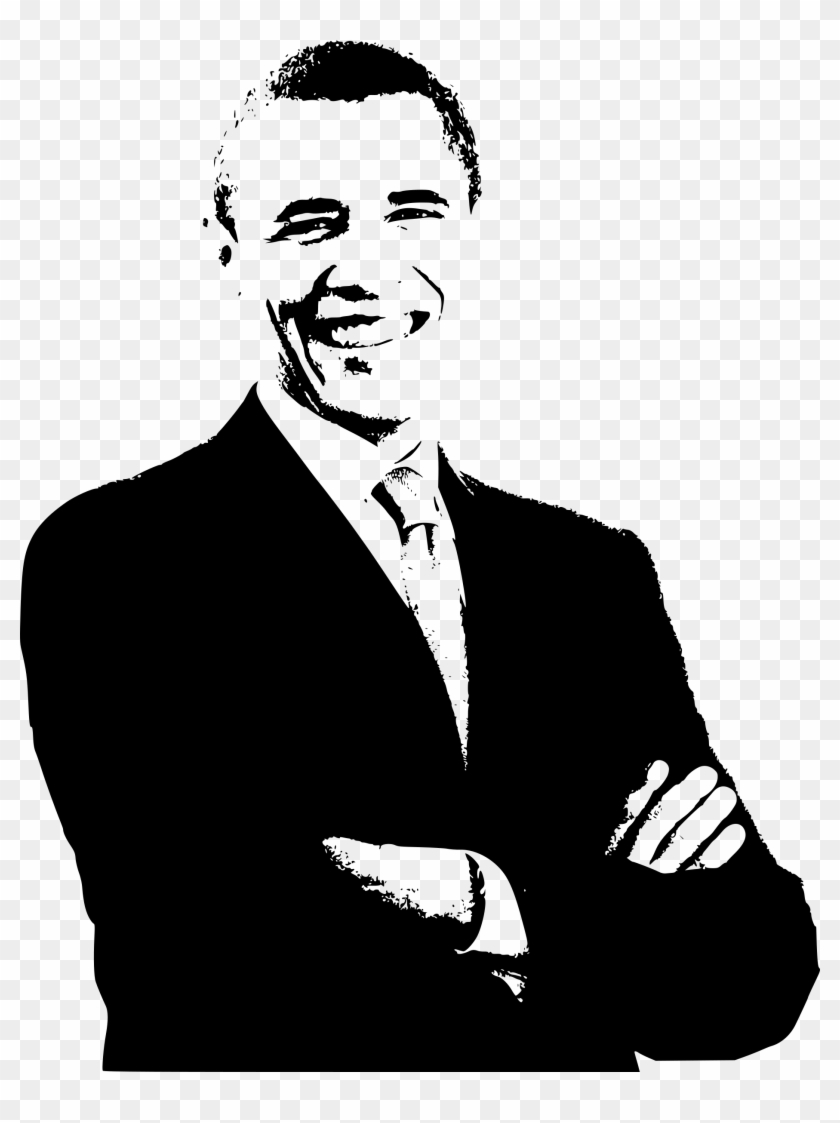 This Free Icons Png Design Of Barack Obama Print Barack Obama Clip Art Transparent Png 2062996 Pikpng