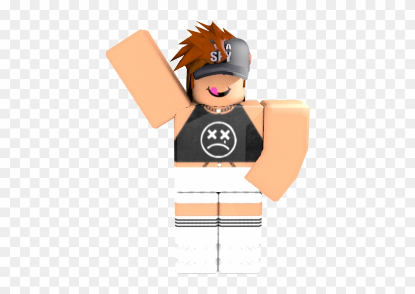 Roblox Character Girl Aesthetic Female Roblox Gfx
