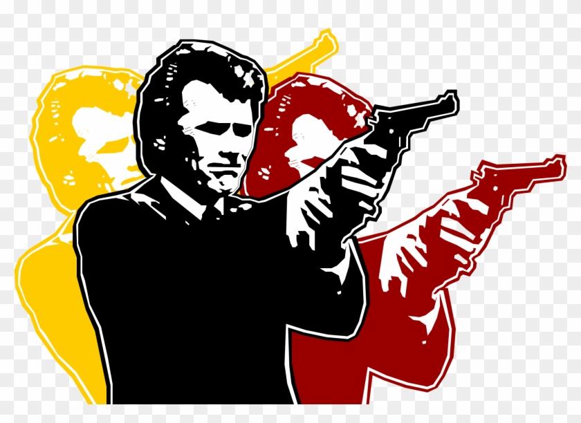 Dirty Harry Wallpapers - Dirty Harry Wallpaper Hd Clipart #2076954