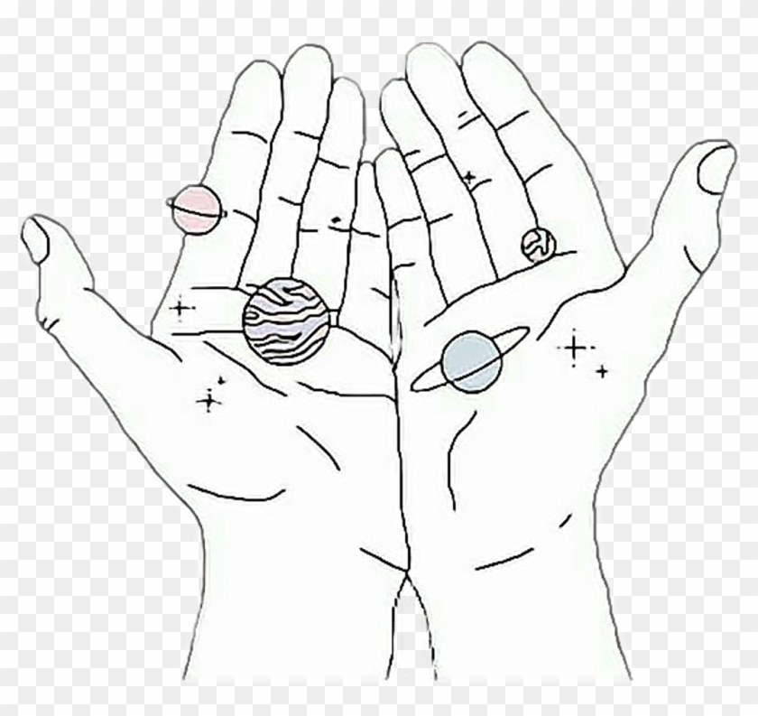 207 2078464 manos galaxy galaxia tumblr girls tumblrgirls aesthetic hands