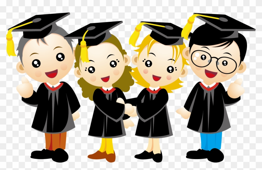 Graduate Clipart Rights Child - Children Graduation Png