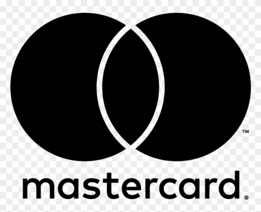 Mastercard Logo Png - Mastercard Logo Black Transparent Clipart