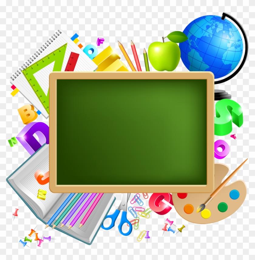 Tubes Ecole Png Borders Frames Backgrounds Pinterest Back To School Transparent Background Clipart 2087753 Pikpng