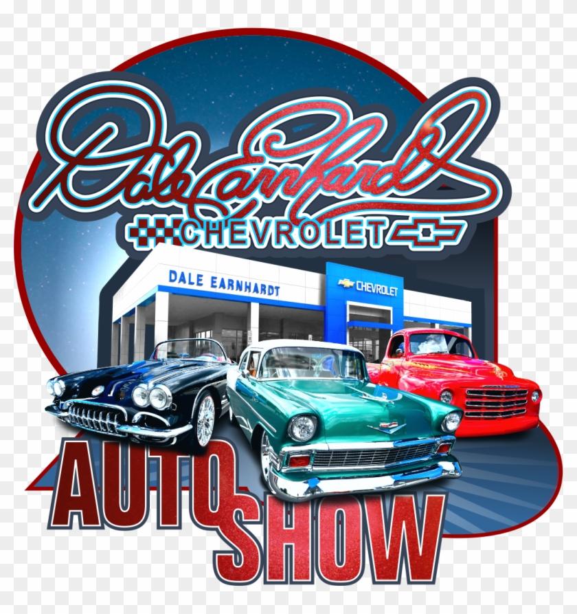 The Dale Earnhardt Chevrolet Auto Show - Auto Show Car Logo Clipart #2088939
