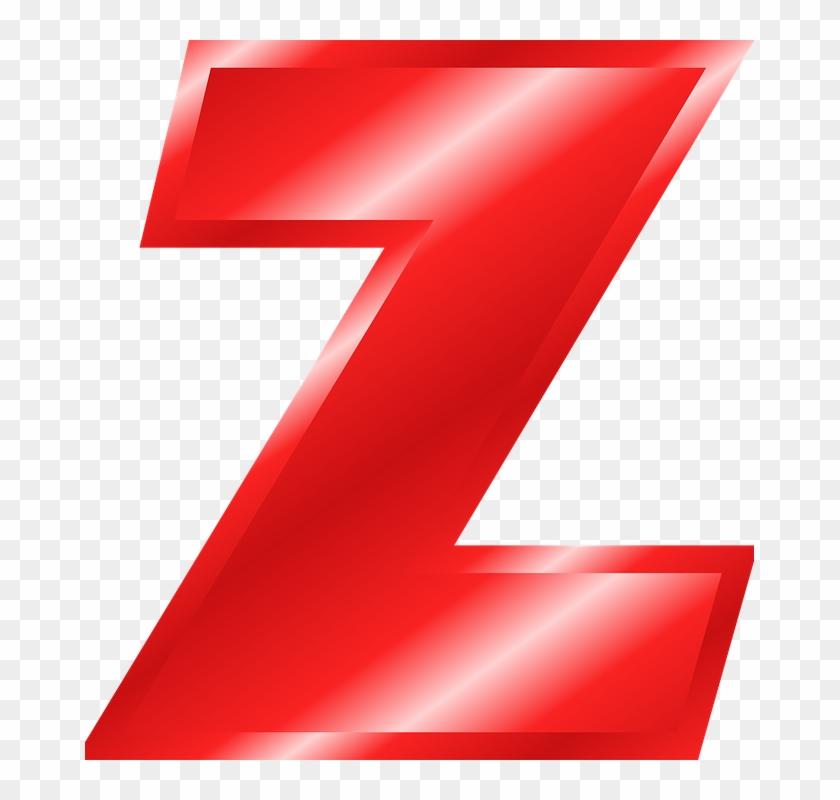 Letter Z Dr Odd - Red Letter Z Png Clipart #2093704