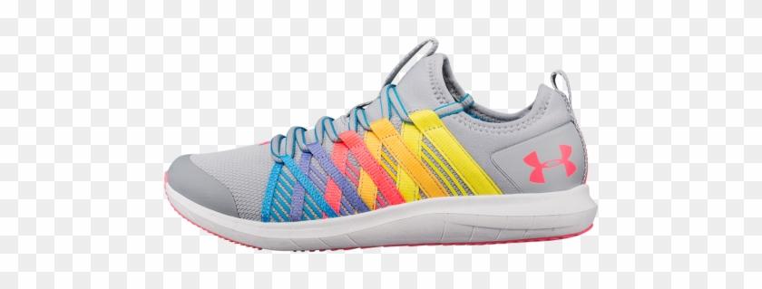 Girls' Grade School Ua Infinity Wide Running Shoes - Running Shoe Clipart #2094548
