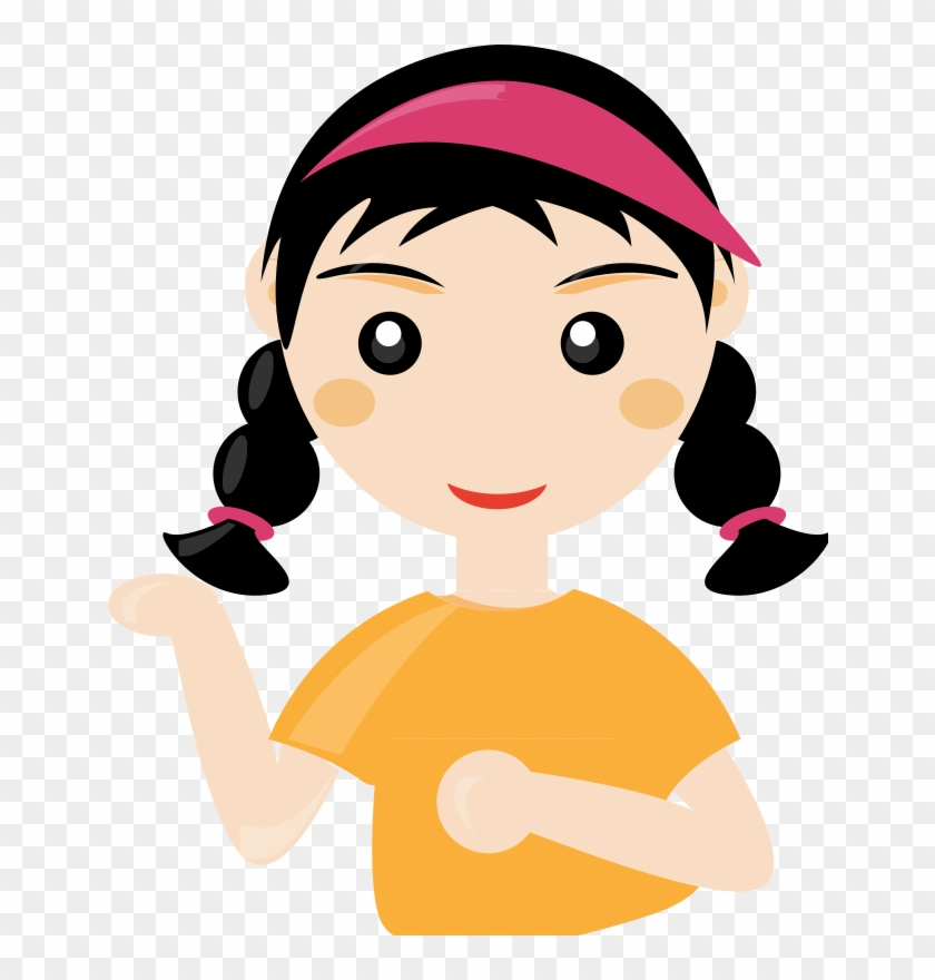 Cute Student Cliparts - Student Girl Clip Art - Png Download #212222